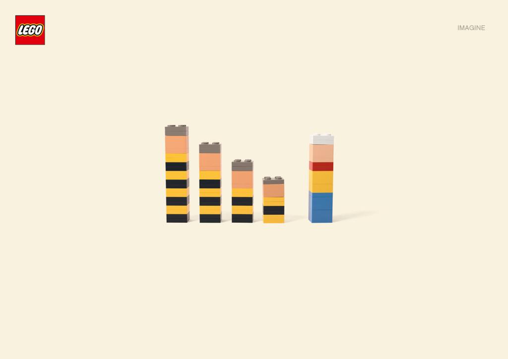 publicidad de lego