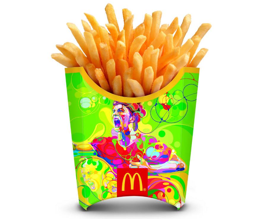 Martín Satí para McDonalds