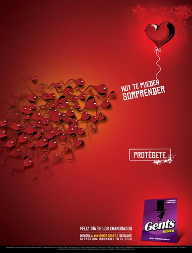 publicidad en san valentin