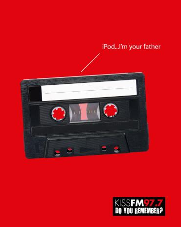 Publicidad de Star Wars en Kiss FM