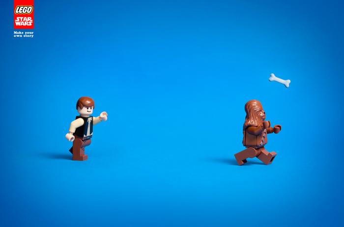 Publicidad de Star Wars en Lego