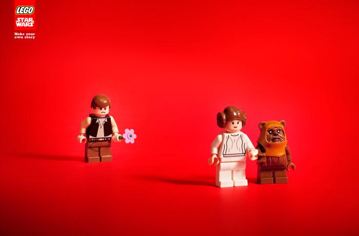Publicidad de Star Wars en Leg