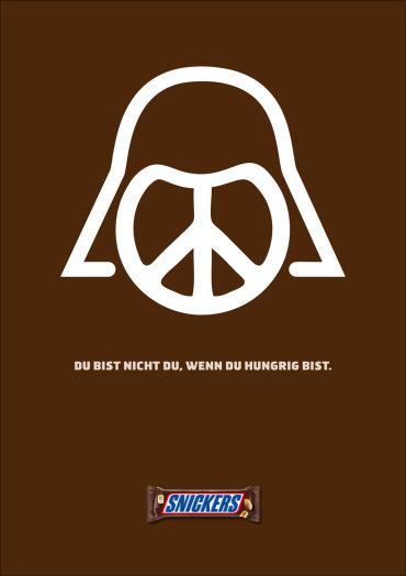 Publicidad de Star Wars en Snickers