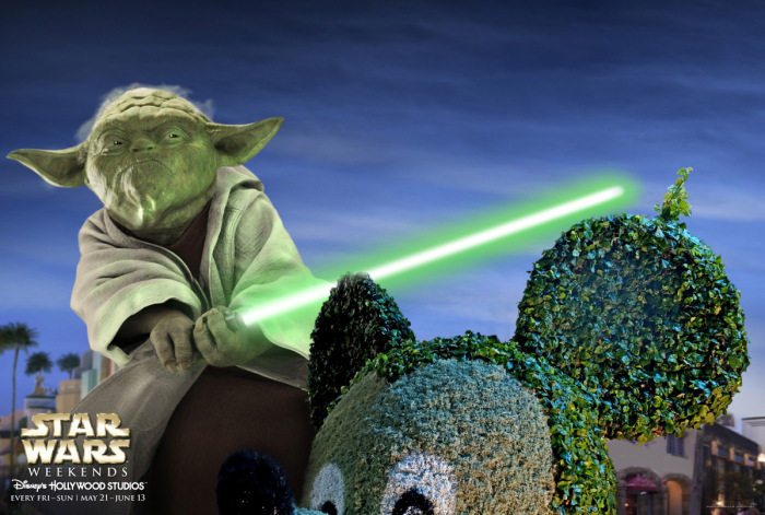 Publicidad Star Wars Disney